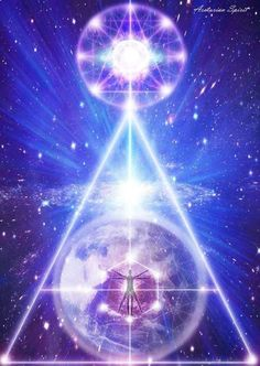 """Ascension is not just a personal experience. It is also a human consciousness experience and a planetary experience. The triad of self, human consciousness, and the planet creates a triangle. Triangles are geometric patterns that create stargates when activated."" 