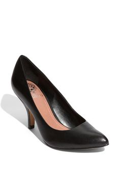 The perfect pump - Vince Camuto 'Vickiy' Pump Most Comfortable Work Boots, Comfortable Heels, Business Professional Dress, Professional Dresses, Interview Attire, Vince Camuto Shoes, Shoe Boots, Toe Shoes, Black Pumps