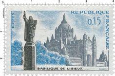 France Stamp 1960 - Basilique de Lisieux