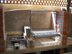 Imgur Post - Imgur Barbecue Pit, Bbq Grill, Grilling, Diy Outdoor Kitchen, Outdoor Cooking, Outdoor Kitchens, Asado Grill, Smoke Grill, Summer Kitchen