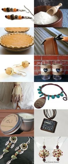 Warm Colored Gifts by Terra Silvasy on Etsy--Pinned with TreasuryPin.com