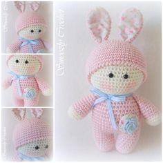 """Gefällt 370 Mal, 4 Kommentare - Jean  Crochet  (@smoozlycrochet) auf Instagram: """"Guten Morgen, einen schönen Wochenstart wünsche ich Euch  Der kleine Spring Bunny ist seit heute…"""""""