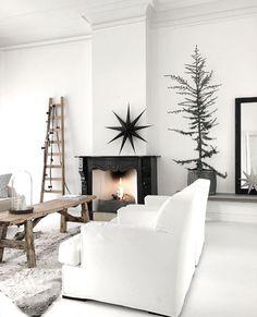 Living Area, Living Spaces, Living Room, Coastal Living, Home And Living, Christmas Inspiration, Christmas Home, Scandinavian Design, Decoration