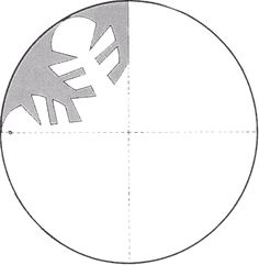 Schneeflocke (Druckseite)