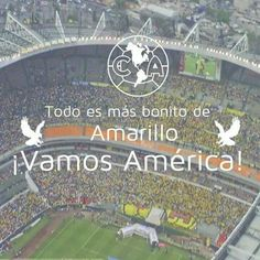 Vamos América!! Club America, Baseball Field, Sports, Lets Go, Hs Sports, Sport, Baseball Park