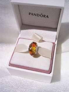 Panora Charm Retired Yellow Bubbles Authentic by JEWELSELAGANT, $25.00