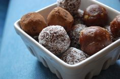 Date Truffles (no added sugar, no butter!)