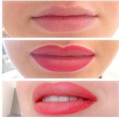 Perfekte Lippen aus dem LONG-TIME-LINER® Schulungszentrum für Permanent Make-up