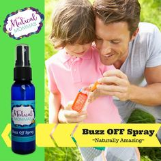 Buzz off is an amazing essential based spray that natural deters pesky bugs and other outdoor pests. It's full of natural goodness that smells AMAZING. It's non toxic and can be used on kids and adults! No DEET found here.