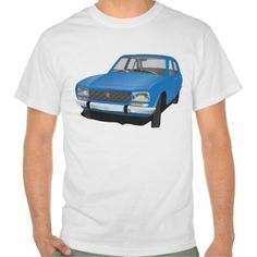 Peugeot 504 t-shirt (blue)   #peugeot #peugeot504 #504 #classic #automobile #car #automotive #bil #auto #tshirt #tshirts #troja #paita #french #france #70s #60s #80s