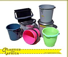 Visit your nearest branch for our variety of round and rectangular household buckets, available in various colours and sizes. Plastic Shop, Buckets, Household, Colours, The Originals, Kitchens, Facts, Bucket, Kitchen