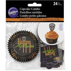 Deadly Soiree Halloween Cupcake Decorating Kit