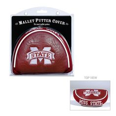 Team Golf Mississippi State Bulldogs Mallet Putter Cover, Multicolor