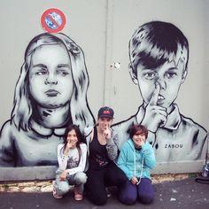 Spreading the Picking Nose Movement in Paris! Police stormed in but we shall not be stopped! GO KIDS!!  • J'ai répandu le Mouvement des Doigts dans l'Nez à Paris! Bon les flics sont arrivés mais ils nous arrêteront pas! ALLEZ LES NENFANTS!!  #zabou #streetart #art #arturbain #urbanart #paris #paris13 #butteauxcailles #pickingnose #doigtdanslnez #kids #enfants