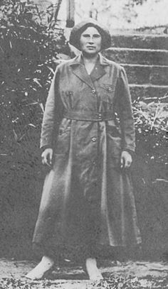 Delia Battles Lewis was a nurse who served on the Eastern Front in WWI, in a Red Cross medical unit.