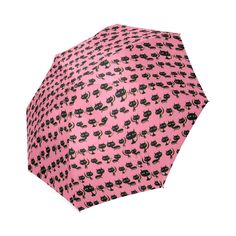 Lots of Cats Pink Foldable Umbrella (Model Lots Of Cats, Umbrellas, Model, Pink, Fashion, Moda, Fashion Styles, Scale Model