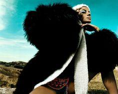 "Gisele Bündchen ""Death Valley"" by Trend council"