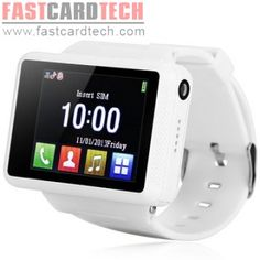 $55.99 +8% off coupon code blackfriday2014 ZF007 Smartphone Smart Bluetooth Watch 1.8 Inch Touch Screen With 0.8MP Camera White