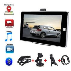 nice HD 7 Inch Car Navigation GPS SAT NAV 4GB 128MB FM Touch Screen Free Maps - For Sale Check more at http://shipperscentral.com/wp/product/hd-7-inch-car-navigation-gps-sat-nav-4gb-128mb-fm-touch-screen-free-maps-for-sale/