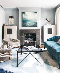 Step Inside a Parisian-Inspired San Francisco Home - San Francisco Cottages & Gardens - June 2017 - San Francisco