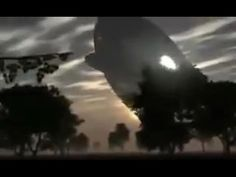 Enormous UFO Captured On Film In Remote Malaysian Village - YouTube