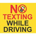 'No Texting While Driving'' Pavement Sign, 36'' x 30''