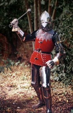 Transitional Suit of Armour C14th/15th