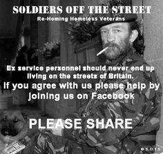 Soldiers Off The Streets. Do we need to say more?