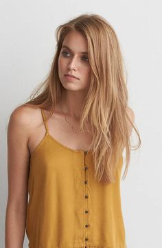 AEO Ruffle Hem Cami by  American Eagle Outfitters |  Shop the AEO Ruffle Hem Cami and check out more at AE.com.