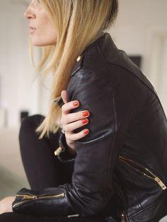 Black biker jacket - buy here