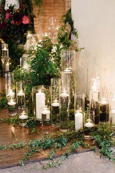 Tropical Chic Miami Wedding by Elaine Palladino – Southern Weddings – Floating Candles İdeas. Miami Wedding, Chic Wedding, Wedding Table, Floral Wedding, Rustic Wedding, Wedding Flowers, Dream Wedding, Wedding Ideas, Wedding Seating