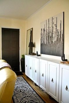 DIY kitchen cabinet to sideboard upcycle/revamp makeover thingy - JEN SELK Home Depot Cabinets, Used Kitchen Cabinets, Home Depot Kitchen, Old Kitchen, Stock Cabinets, Ikea Cabinets, Upper Cabinets, Cheap Kitchen, Sweet Home
