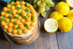 Как приготовить лимонный торт и курд, как собрать торт, пошаговый рецепт с фото, блог и интернет-магазин andychef.ru