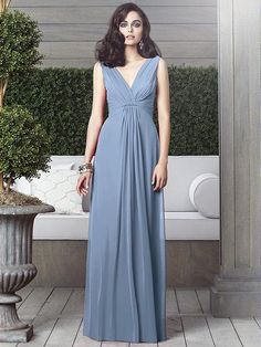 Dessy Collection Style 2907 (Cloudy)