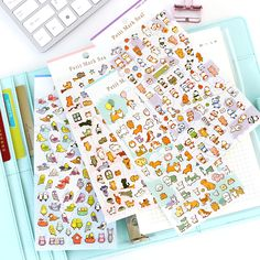 4 pcs/Lot Petit mark seal Cute dog cat panda bird sticker for diary phone laptop scrapbook Stationery School supplies 6317-in Stationery Sticker from Office & School Supplies on Aliexpress.com | Alibaba Group
