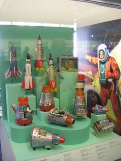 1950's Space Toys by andibob909, via Flickr
