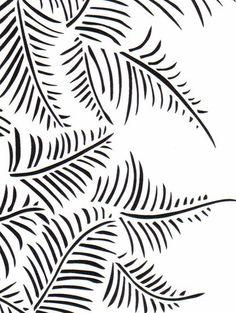 Feather stencil - Alabama Chanin (alabamachanin.com)