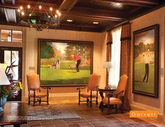Garrett Vintage® Oak with Saddle Impress | Sawgrass Marriott Golf Resort and Spa, Ponte Vedra Beach, FL