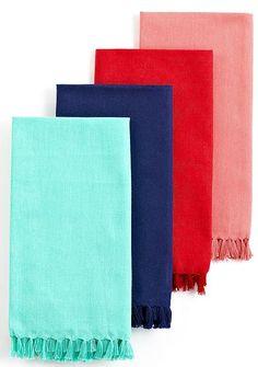 I die for these bright colored Fiesta table linens and napkins. #weddingchickspicks #fiestaware #macys ---> http://www.macys.com/registry/wedding/catalog/product/index.ognc?ID=759723&cm_mmc=BRIDAL-_-CARAT-_-n-_-WCPinterest