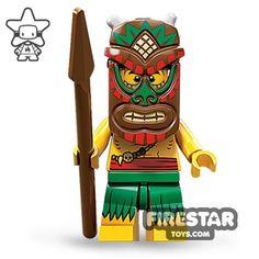 LEGO Minifigures - Island Warrior | Minifigures Series 11 | Collectable LEGO Minifigures | Firestartoys.com