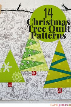 I'm loving this holiday quilt patterns.