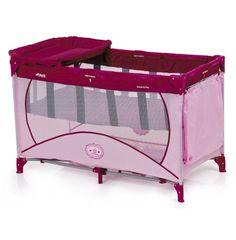 Hauck Dream n Play NTC Basinette Changer Travel Cot - Cute Baby Pink Cot  Bedding 365b17da32