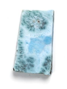 Larimar.  You can just see the molten lava broiling up and then suddenly it's freeze-framed.