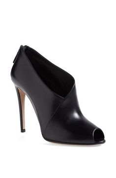 Prada Peep Toe Bootie available at #Nordstrom