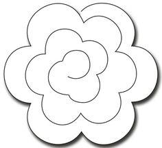 My Favorite Things Die-Namics Die-Rolled Rose, Paper Flowers Craft, Paper Roses, Flower Crafts, Diy Flowers, Fabric Flowers, Felt Flower Template, Paper Flower Tutorial, Diy Paper, Paper Crafts
