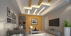 Latest false ceiling designs for bedrooms pop ceiling design ideas 2019 image 19 of 20 image to enlarge luxury pop fall ceiling design ideas pop design pop false ceiling design ideas for living room and hall 2019 false Latest False Ceiling Designs, Simple False Ceiling Design, House Ceiling Design, Ceiling Design Living Room, Bedroom False Ceiling Design, Living Room Designs, Living Rooms, Bedroom Ceiling, Plaster Ceiling Design
