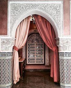 arabic, architecture, and morocco image