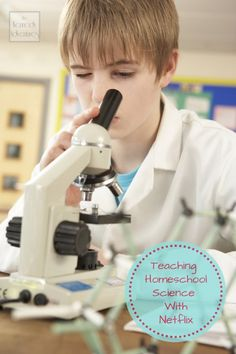 Teaching #homeschool #science with Netflix - don't miss the free graphic organizer!