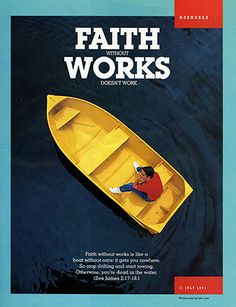 "Scripture: Faith Romans 1:17 ""For therein is the rightenousness of god revealed from faith to faith: as it is written, the just shall live by faith."" James 2:18 ""Yea, a man may say, Thou hast faith, and I have works: shew me thy faith without thy works, and I will shew thee my... #sundaysundae"