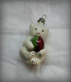 Soviet Vintage  Christmas ornament   Made of Glass in by VintageUA
